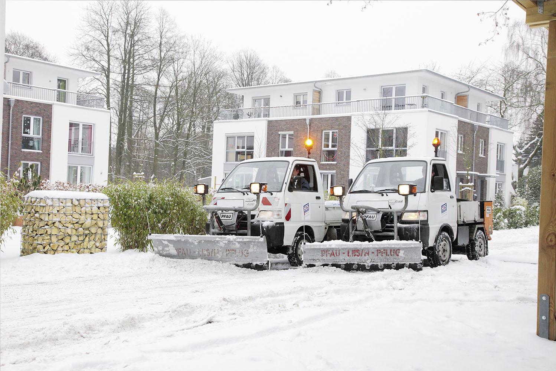 HDS Gebäudedienste Hamburg Winterdienst