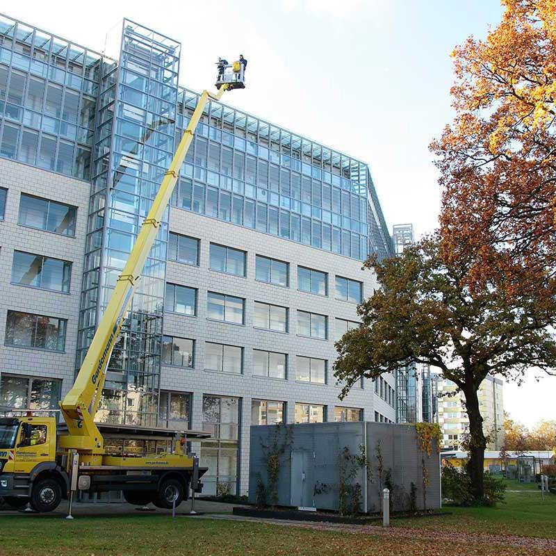 HDS Gebäudedienste Fassadenreinigung