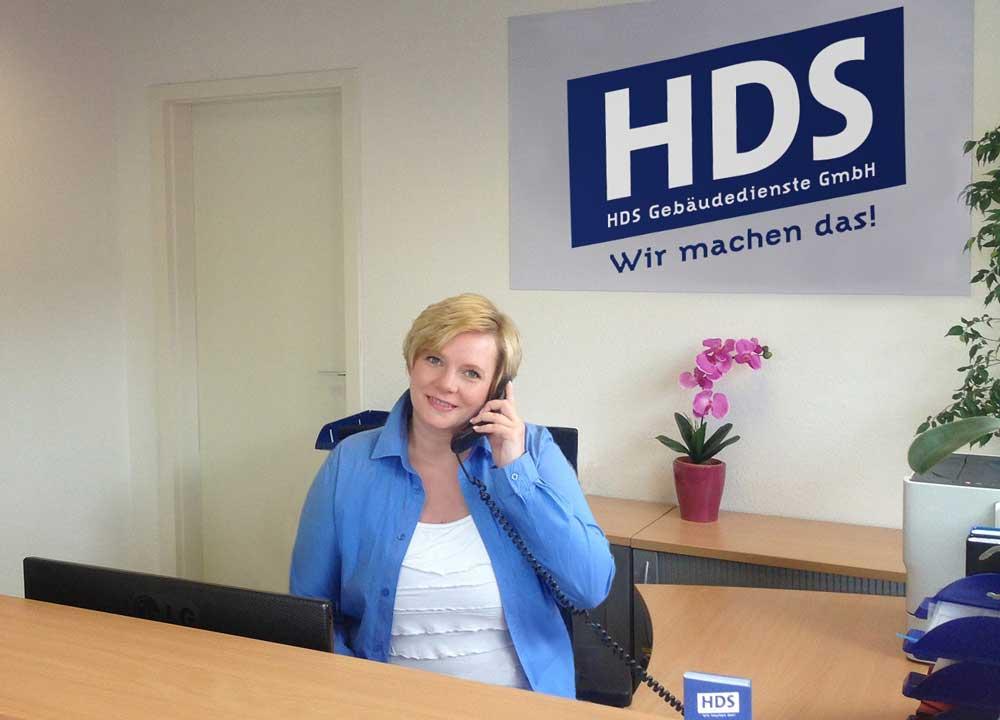 HDS Gebäudemanagement Hamburg - Wir sind gerne für Sie da.